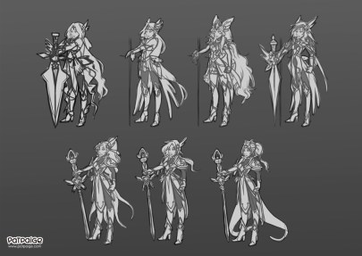 Concept Character sketches