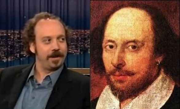 Ο Paul Giamatti και ο William Shakespeare