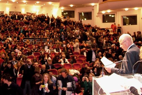 Πάτρα: Ορκίστηκαν οι φοιτητές του ΕΑΠ – Δείτε φωτογραφίες από την τελετή