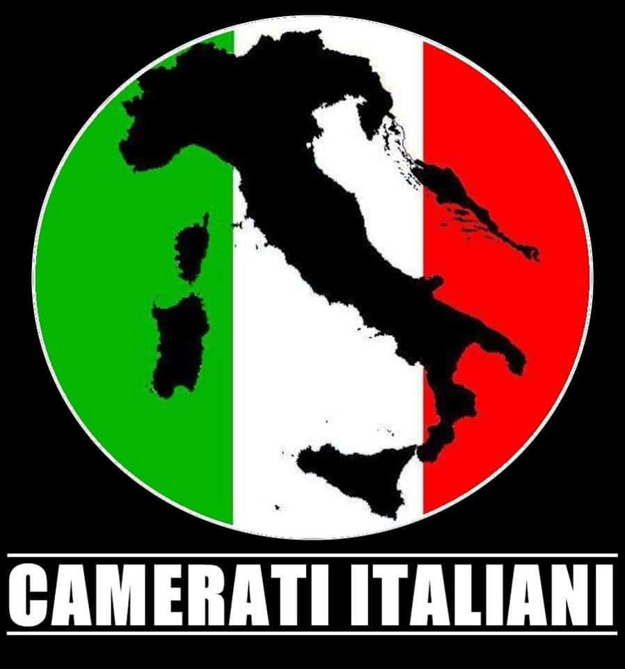 """Ed ecco l'Italia """"nera"""" del profilo facebook di Camerati Italiani"""