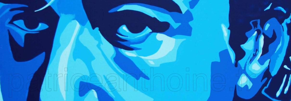 Des reflets de bleu