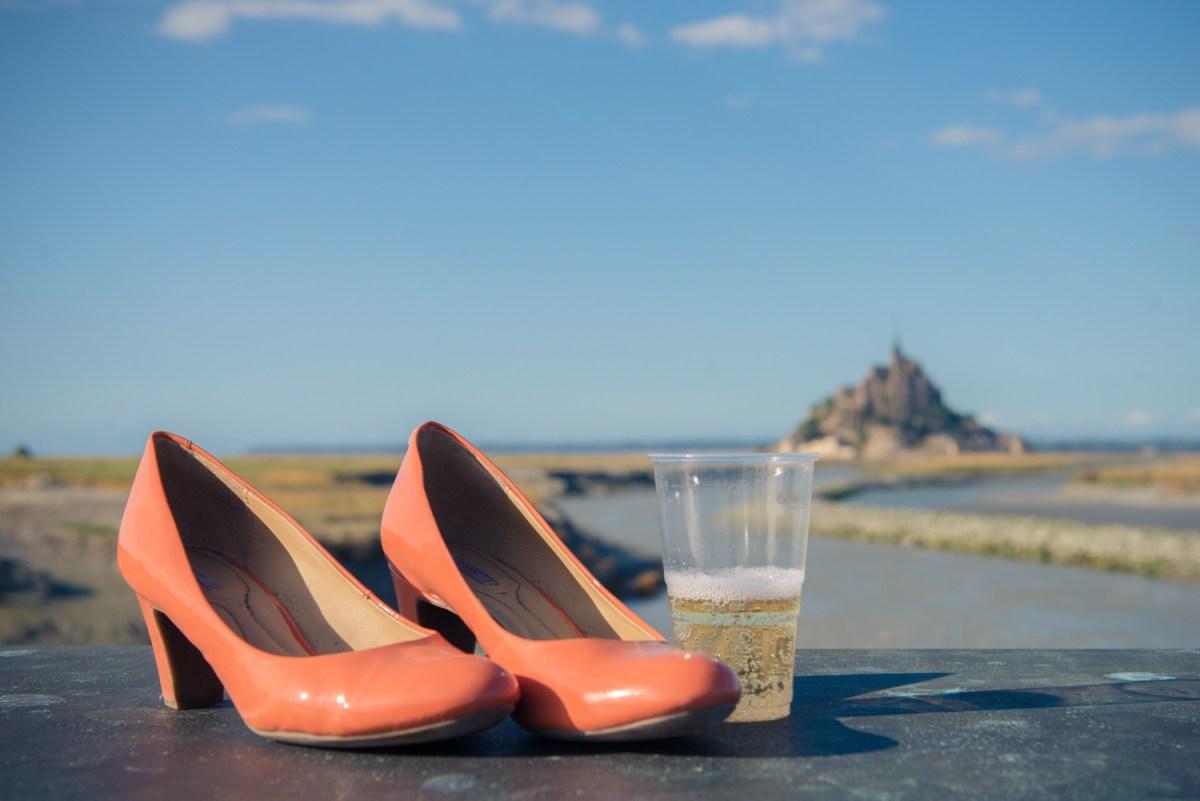 Mariage au Mont St Michel
