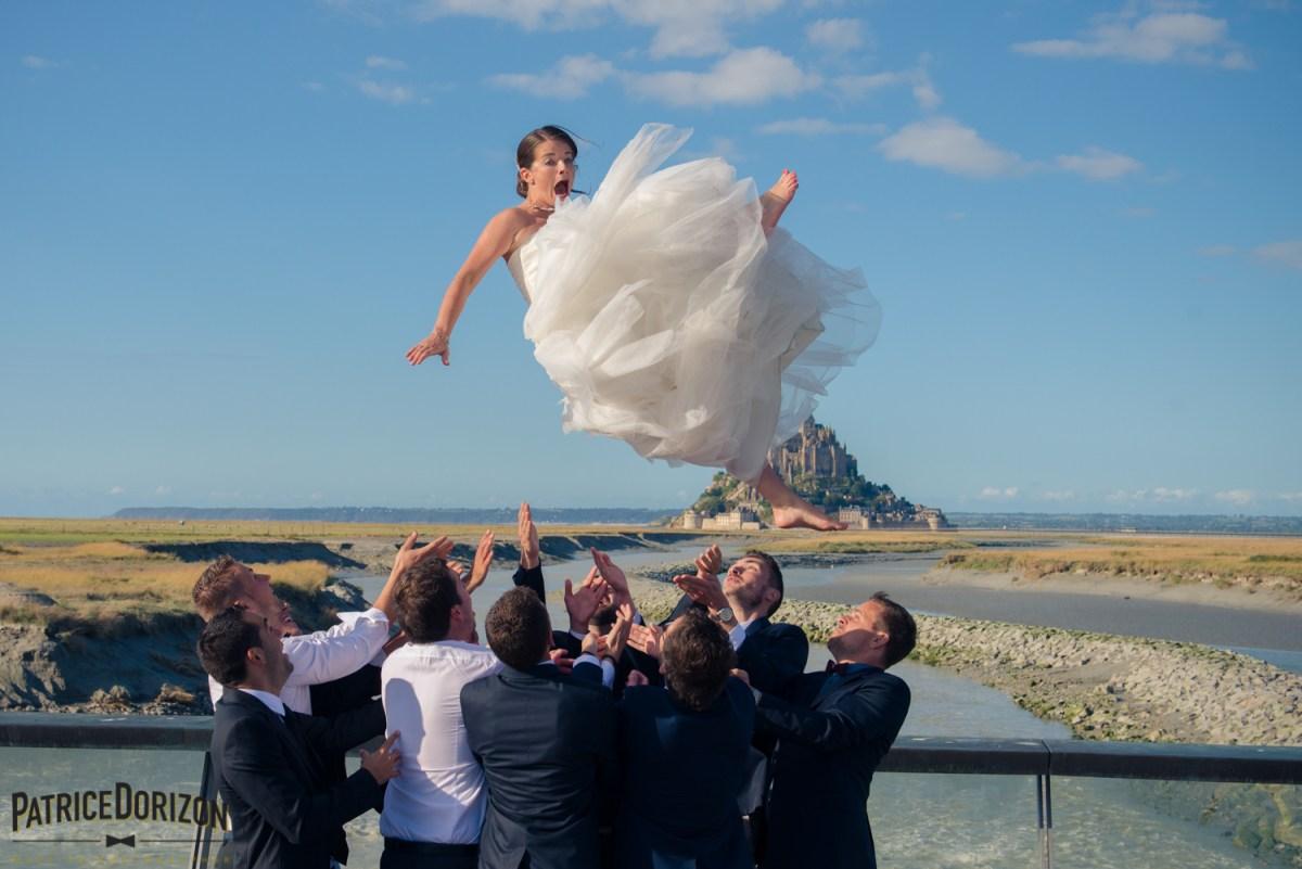 Mariage au Mont Saint Michel