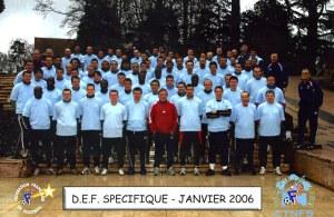 Le D.E.F. Spécifique en janvier 2006