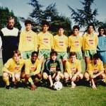 Les Cadets Nationaux Nantais entraînés par Jean-Claude Baudouin (2eme en partant de la gauche)