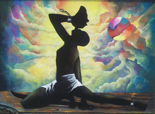 Haitian Art Patrice Piard Call Freedom- Glory Of