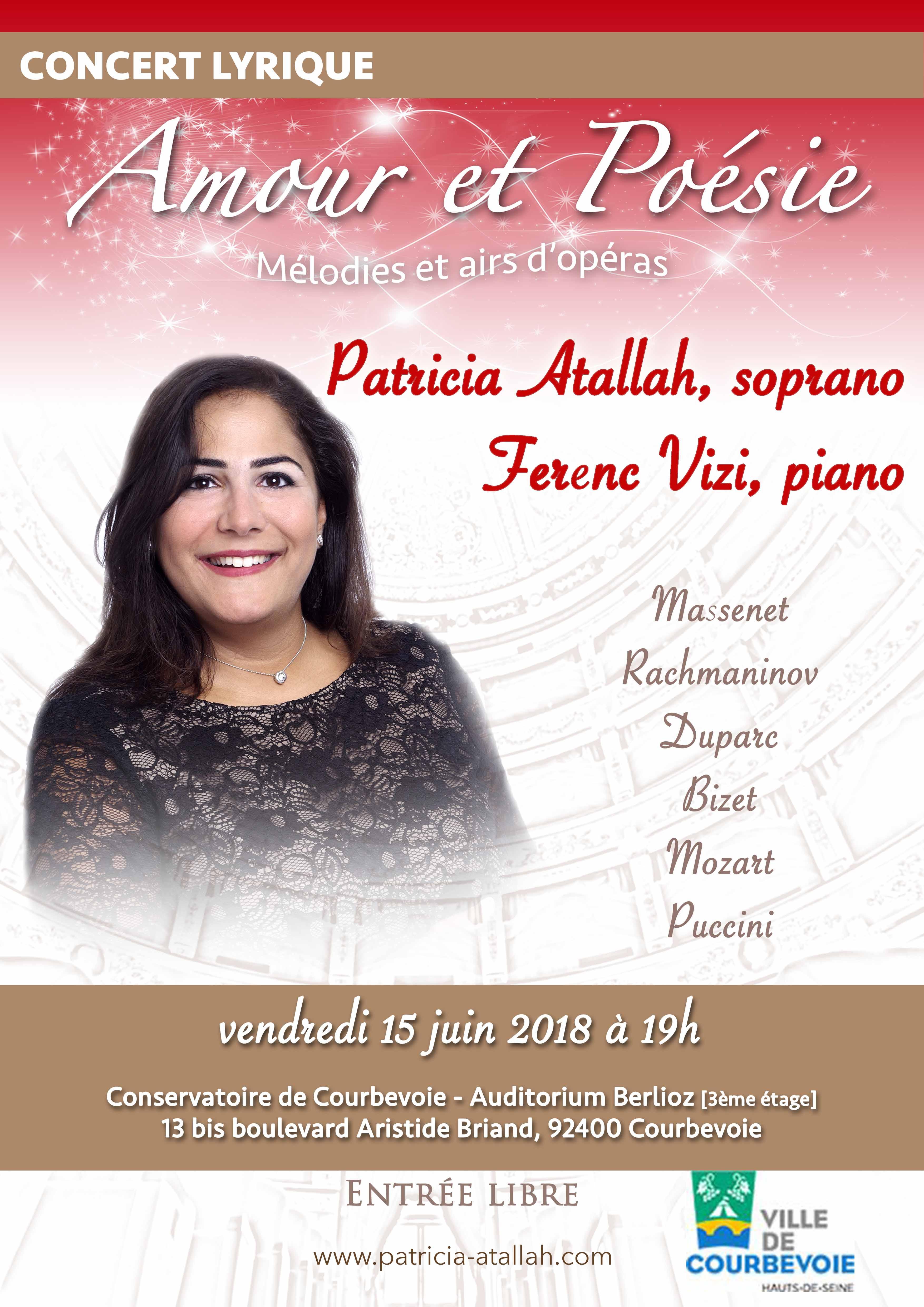 Concert Lyrique - Amour et Poésie