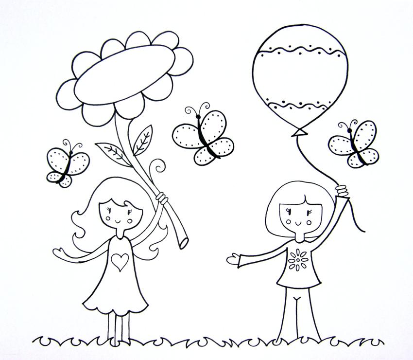 Dibujos creativos para colorear