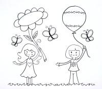 Dibujos creativos para colorear - Imagui