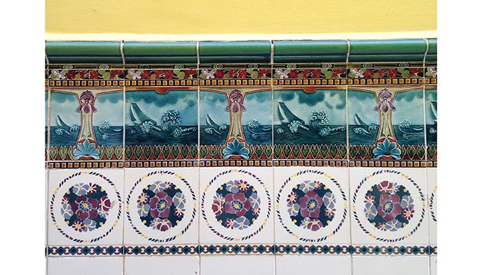 Azulejos da casa de Jorge Amado