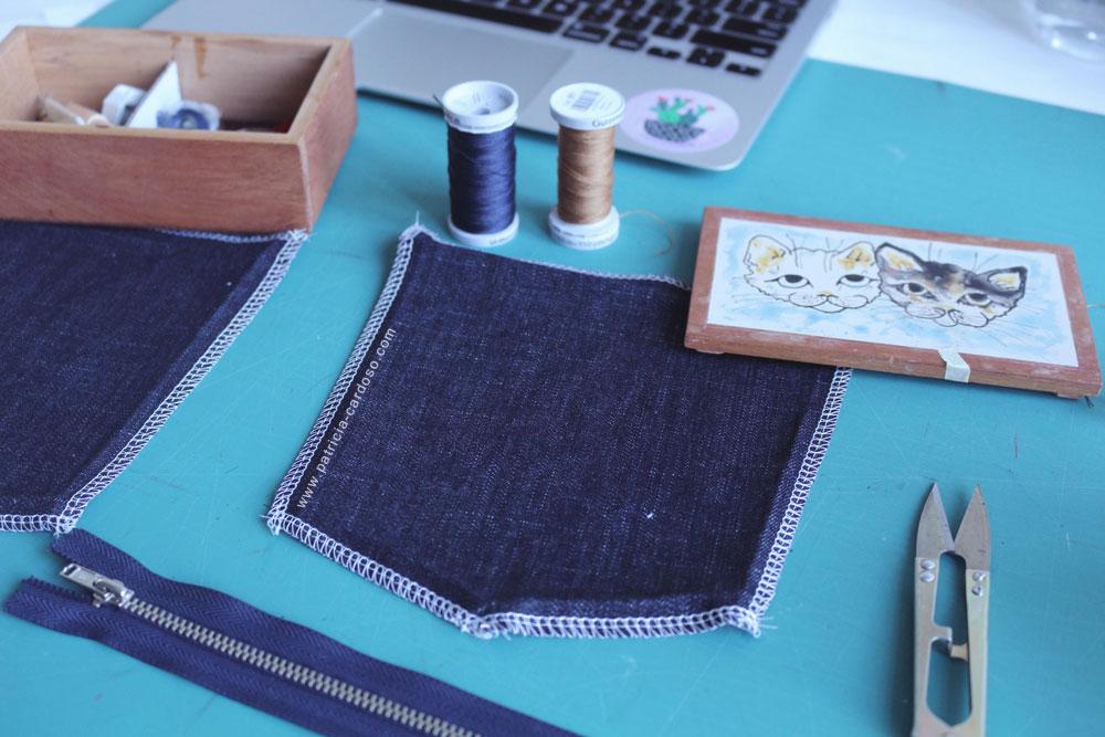 Costure seu jeans - Patricia Cardoso