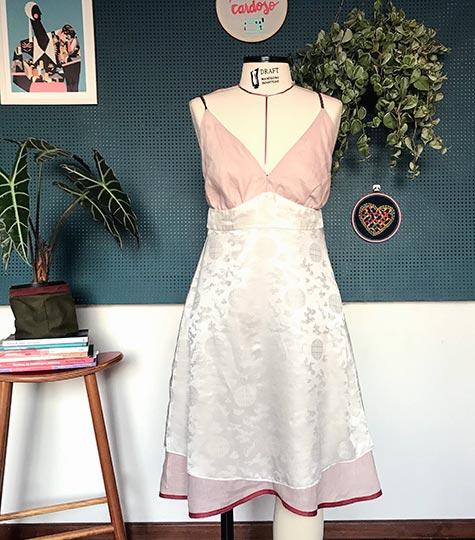 Como forrar roupas   Patricia Cardoso