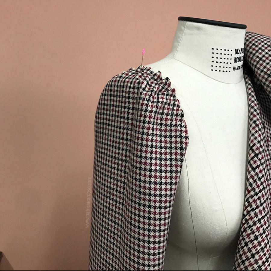 curso de costura de um casaco   Patricia Cardoso