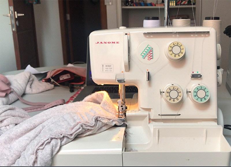costurando uma calça de moletom com maquina doméstica   Patricia Cardoso