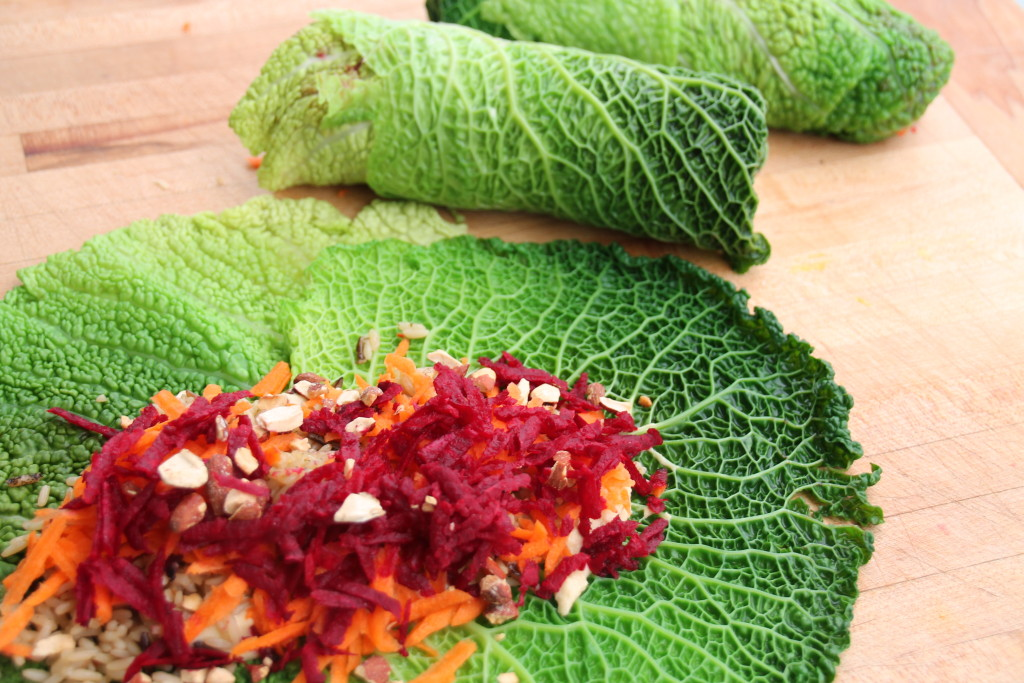 Cabbage Leaf Wraps 006
