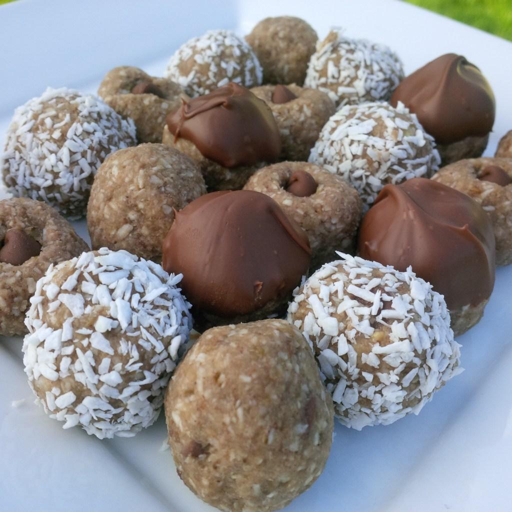 Lentil truffles balls