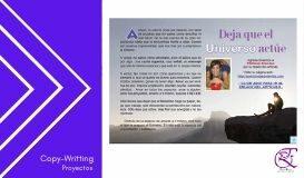 Copy writting en Piensa en reiki