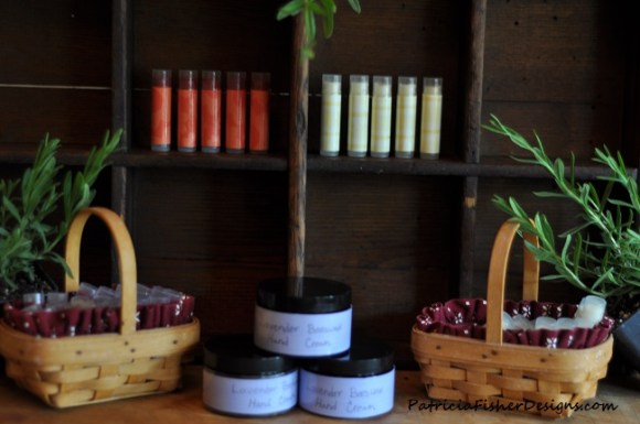 beeswax lip balm and hand cream