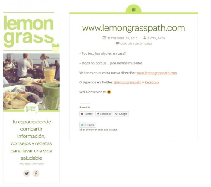 Lemongrass antiguo