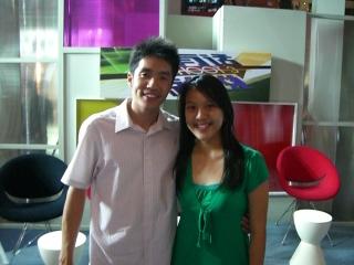 Calvin and Lin Ru Jing