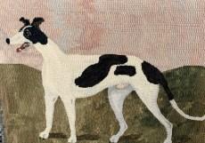 dog rug art 2019