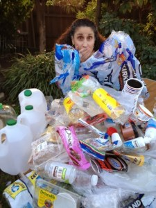 Patricia Newman's plastic consumption