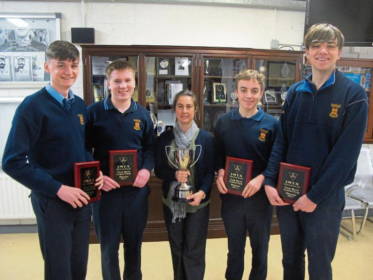Students crowned Midland Maths Champions