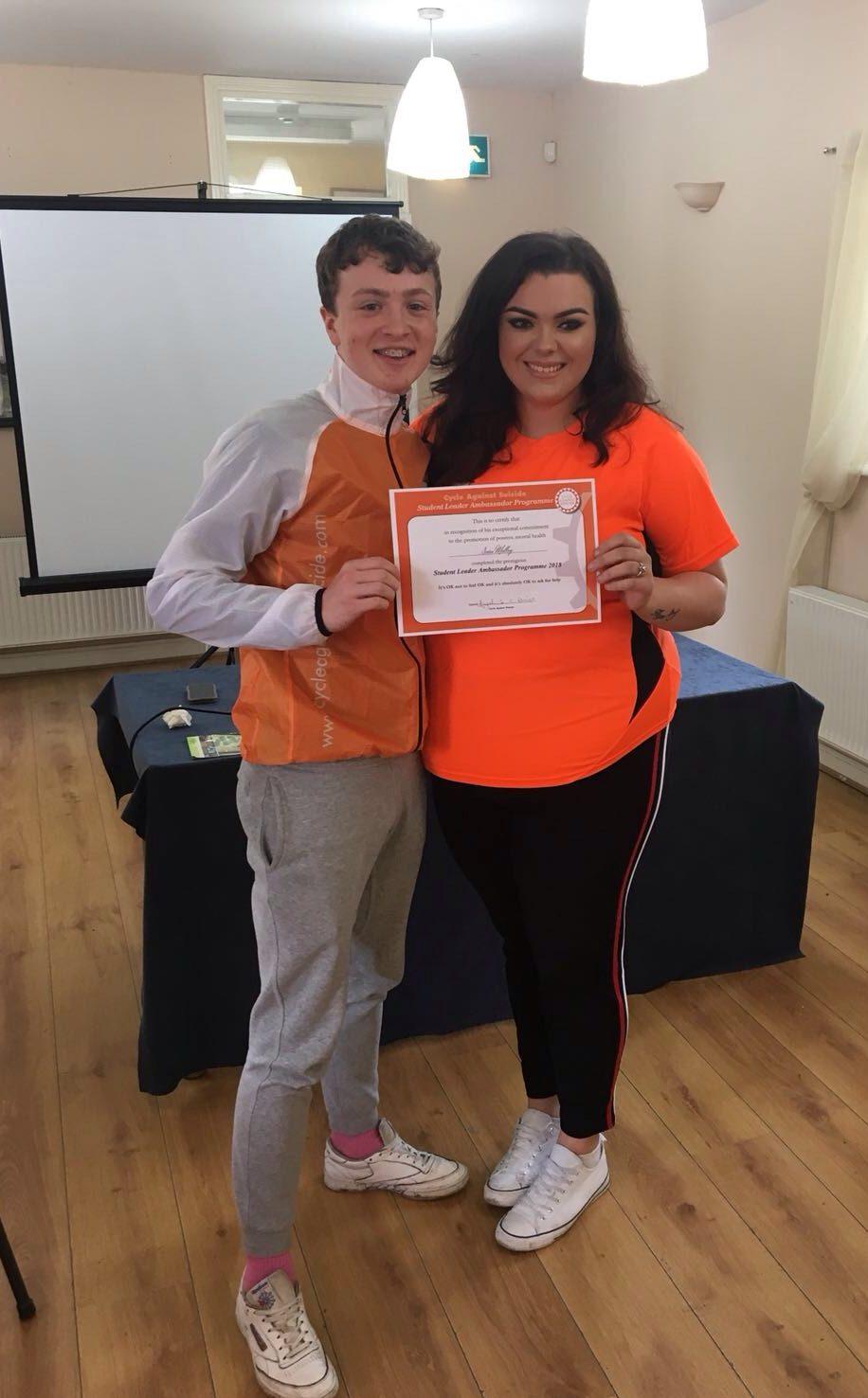 Seán Molloy named as CAS Student Leader