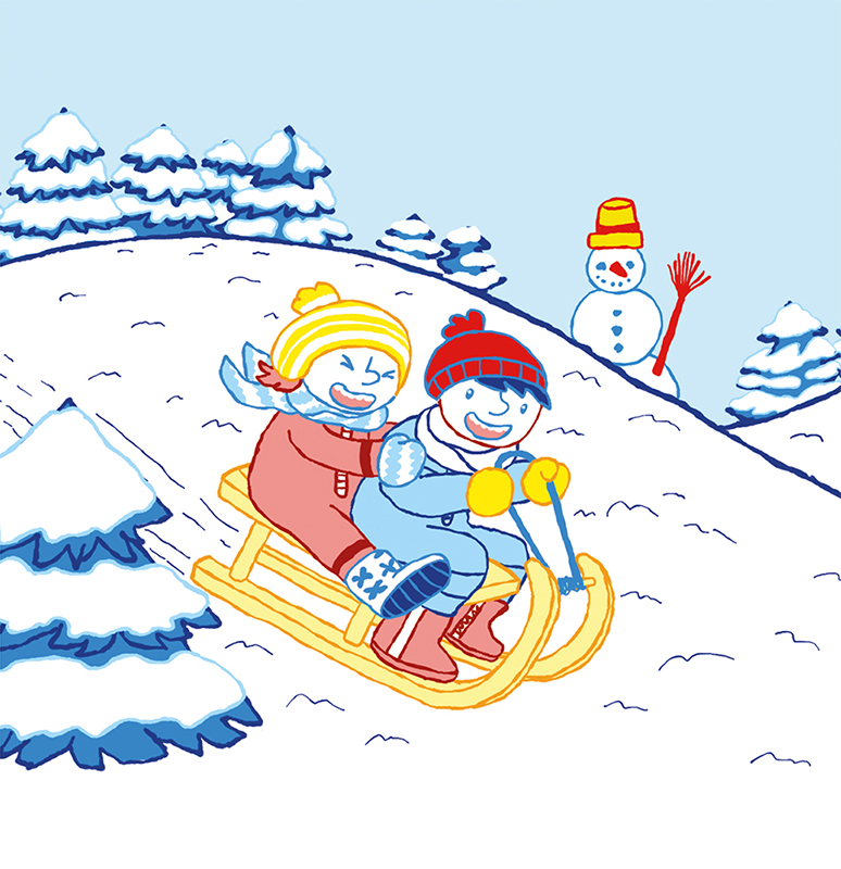 Frieda und Markus Durch das Jahr Januar