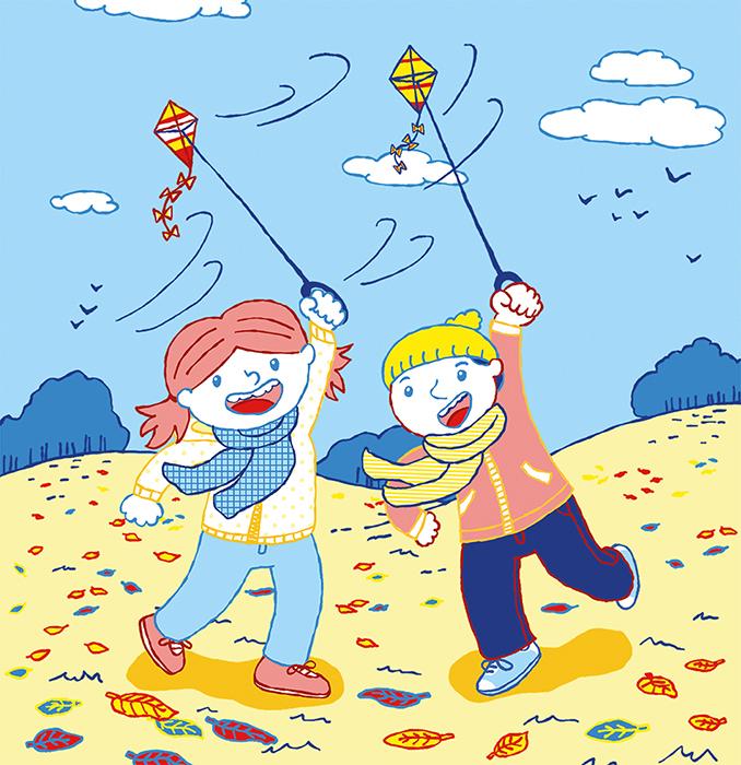 Frieda und Markus Durch das Jahr Oktober