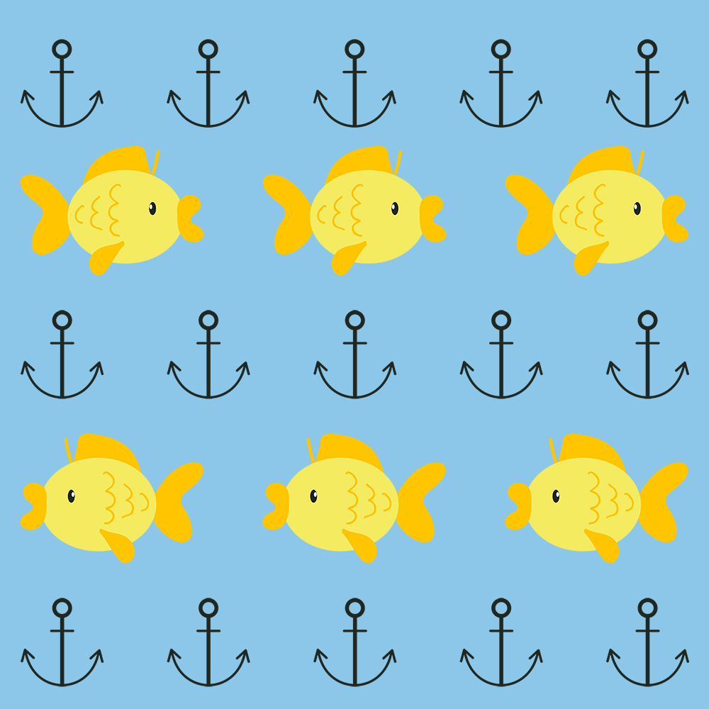 Muster Fische Patricia Oettel