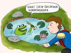 Märchen mal anders Froschkönig