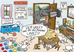 Märchen mal anders Wolf und sieben Geißlein