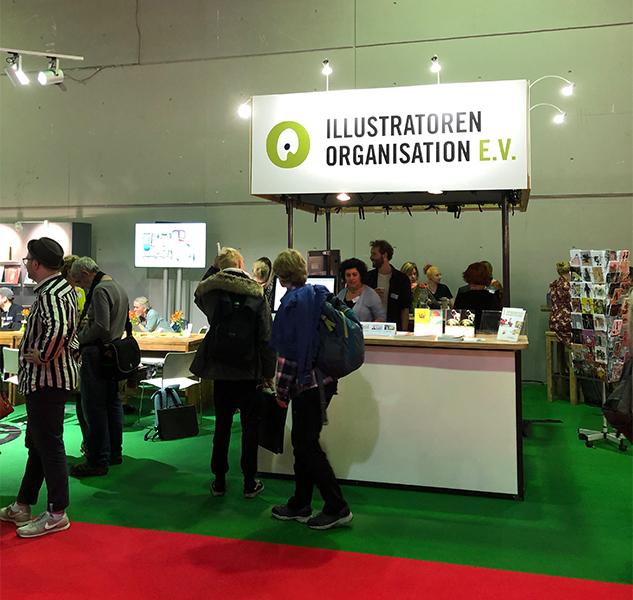 Frankfurter Buchmesse 2019 Illustrator Stand