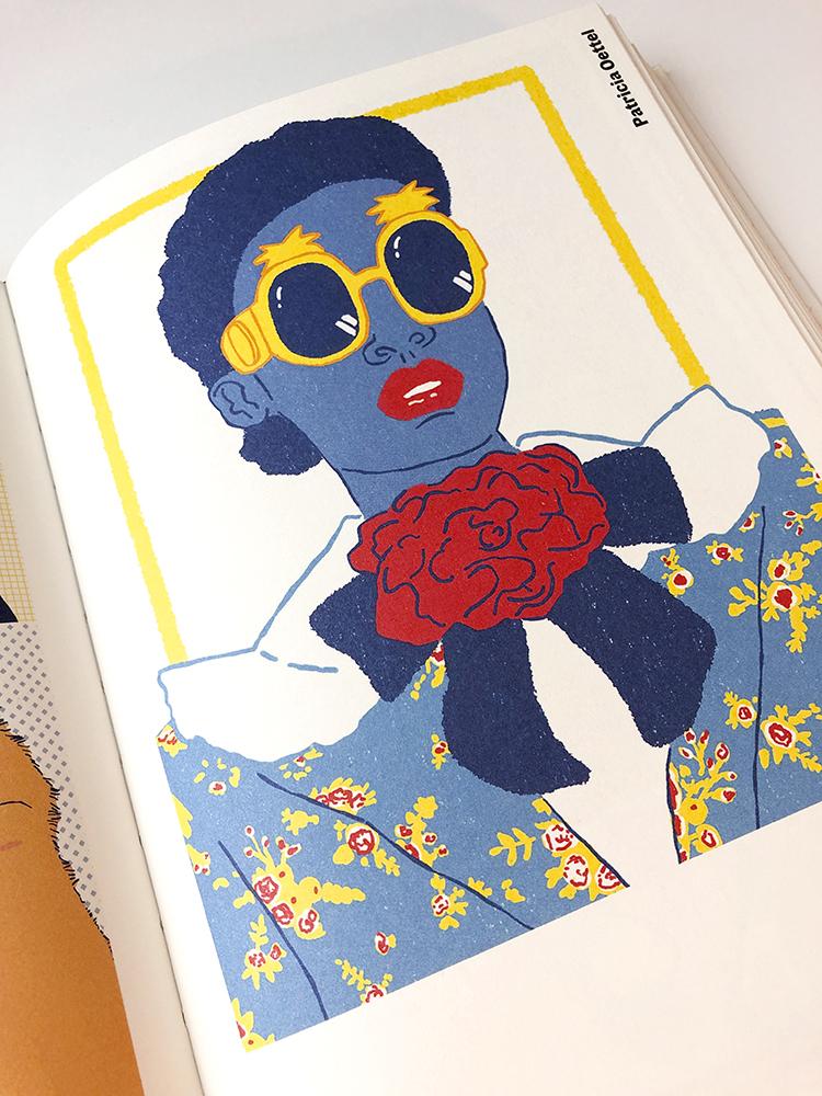 Freistil 7 Buch Innenseiten Mode Fashion Illustration Patricia Oettel