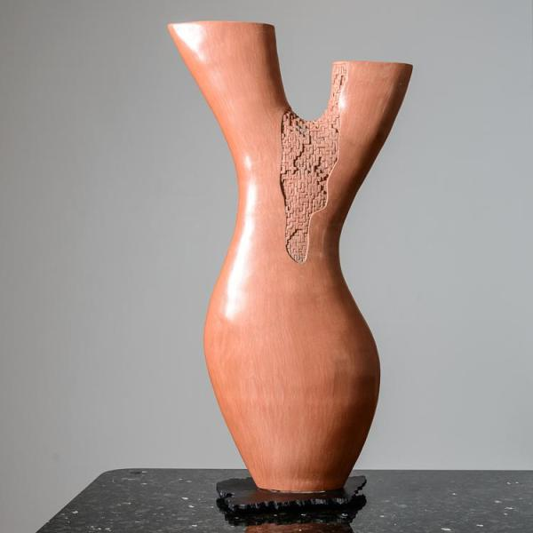 hand-thrown-coral-branch-shaped-ceramic-sculpture-unsigned-4251