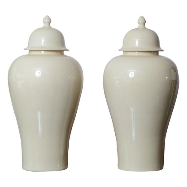 Fabulous Large Ginger Jars A-Pair