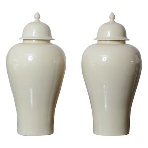 Fabulous Large Ginger Jars A-Pair