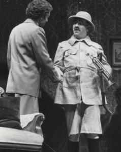Phil Nicholson and Bill Hayden