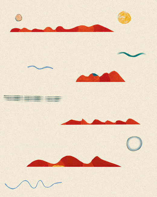 Beach 3 by Patricia Wynn Davies