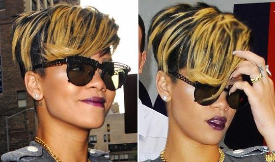 rihanna2v1 - Rihanna e suas Madeixas