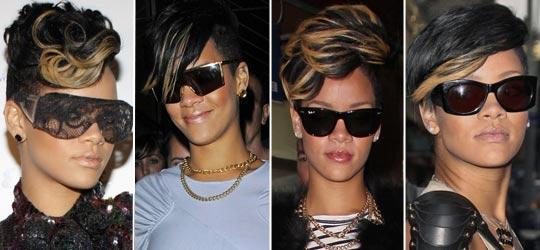 rihanna31 - Rihanna e suas Madeixas