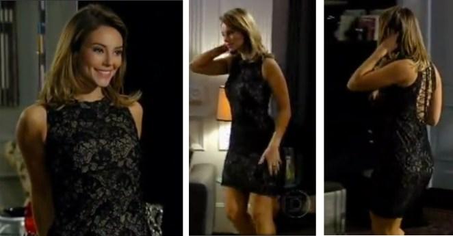 vestido preto renda marina insensato coracao1 - Vestidos de Insensato Coração