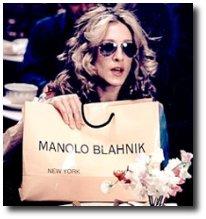 Manolo Blahnik show - Elegantíssima Sarah Jessica Parker X Poderosíssima Carrie Bradshaw