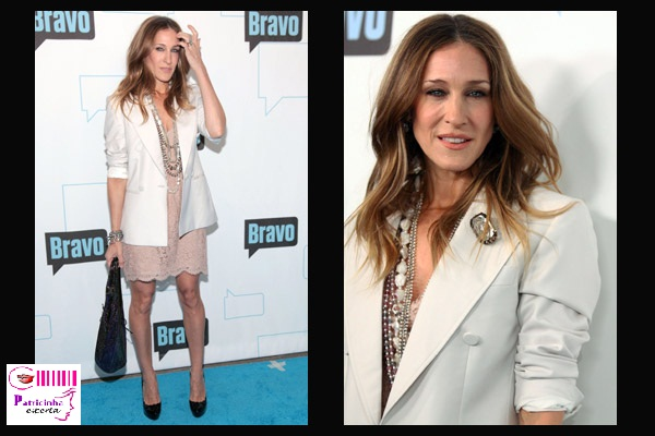 sarah jessica parker vestido blazer - Elegantíssima Sarah Jessica Parker X Poderosíssima Carrie Bradshaw