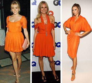 vestido 300x270 - Laranja, a cor do proximo verão!