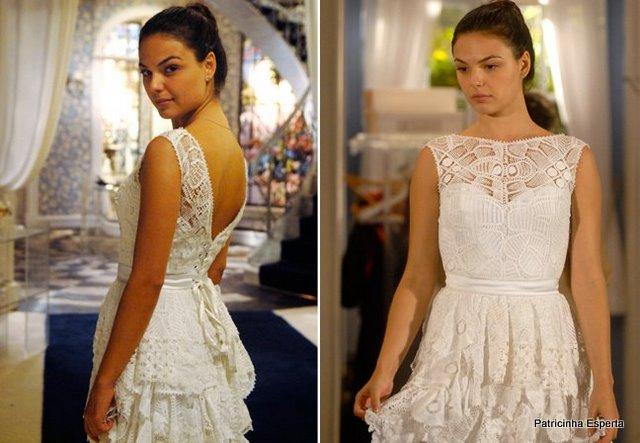 vestido de noiva marcela ti ti ti - Olê Mulher Rendeira, Olê Mulher Rendá... Tu Me Ensina a Fazer Renda, Eu Te Ensino a Namorá.
