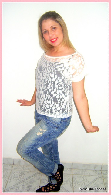 DSC01608 1 - Look do Dia - Bailarina...