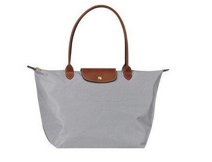 Free Shipping Bag Gray Longcham Le Pliage Womens bag handbag all Size M - A Bolsa de Cada Signo