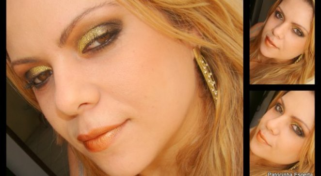 Mae - Tutorial: Make Dourado com  Glitter